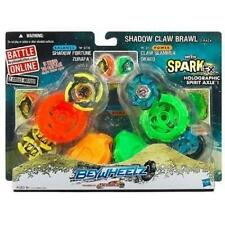 2-Pack Beyblade Beywheelz Battler Shadow Claw Brawl Fortune Zurafa Slammer Drago
