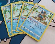 Pokemon Cards 4x Frogadier Playset Forbidden Light 23/131 NM