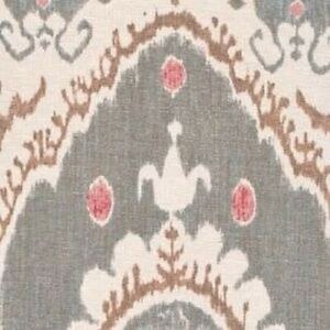 Lewis and Wood - Bukhara - Tea Rose - Fabric Remnant - 160cm x 23cm - Face Masks