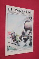 rivista a fumetti IL BALILLA Supplemento Popolo d'Italia ANNO XV N.43 (1937)