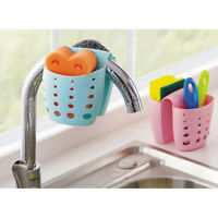 Newly  Kitchen Sink Tidy Holder Sponge Brush Bathroom Washing Organizer Drainer