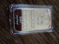 Northwest Territorial Mint fake 1 oz. bar