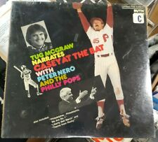 1980 LP Album Tug McGraw Narrates Casey at the Bat Peter Nero Philly Pops Sealed