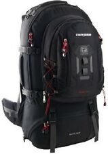 CARIBEE DAKAR 75L HIKING LUGGAGE BACK PACK + 15L DAY BAG BLACK