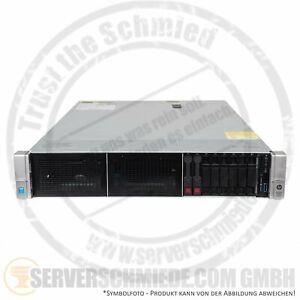 HP DL380 Gen9 2x E5-2640V3 128GB 8x 16GB RAM 1,8TB HDD H240ar HBA 2xPSU Server
