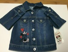 Brand new Disney Minnie Mouse Jean Jacket, jumping beans size 2T, with tags