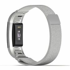 MoKo LJQ MENS strap for fitbit charge 2 silver - Milanese Armband