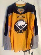 Reebok Authentic NHL Jersey Buffalo Sabres Team Yellow Alt 3rd sz 54
