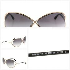 Tom Ford Sunglasses TF 130 Havana 28G Miranda 68mm Women's New