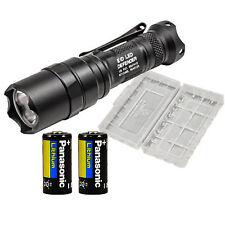 Surefire E1D LED Defender 300 Lumen Flashlight Dual Output w/ 3 Batteries & Case