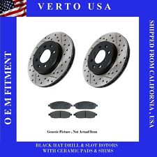 Front Rotors & Pads For Toyota Corolla, Vibe, Matrix 03 04 2005 2006 2007 2008