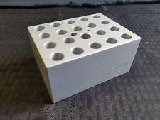 Thermolyne Aluminum 20-Place 11mm 1.5-2 mL Dri-Bath Incubator Microtube Block