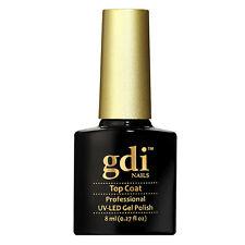 "UK SELLER Gdi Nails ""NO WIPE"" Top Coat UV/LED  Soak Off UV/Led Gel Polish A1"