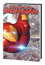 INVINCIBLE IRON-MAN VOL #1 REBOOT HARDCOVER Bendis, Marquez Marvel Comics HC