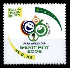 Fußball. WM-2006, Deutschland. 1W. Brasilien 2006