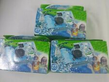 Fuji Film Quicksnap Waterproof Camera 27 Picture's Per Lot Of 3 Exp 6-2020..1a