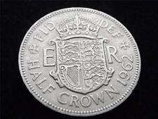 1962 ELIZABETH II HALF-CROWN COIN