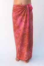 NEW PREMIUM QUALITY PINK BEACH SARONG PAREO / sa302P