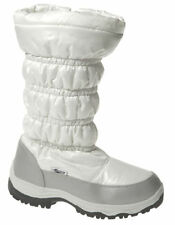 Womens Snow Casual Winter Zip up Ladies Walking Fur Lined Hiking Boot