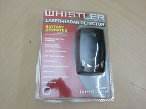 New Whistler XTR-195 Radar Detector Open Box Radio Shack