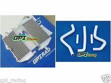 radiator +WHITE hose kawasaki KX125 KX250 KX 125 250 94-02 01 00 95 96 97 98 99