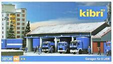Kibri 38136 ( 8136 ) H0 - Garagen für 4 LKW`s NEU & OvP