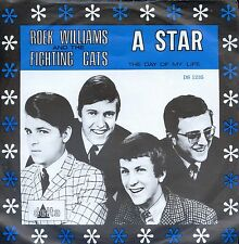 7inch ROEK WILLIAMS AND THE FIGHTING CATS a star HOLLAND EX +PS 1967