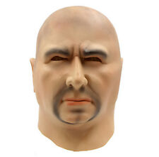 Deluxe Halloween full head latex mask bald man party gift.UK.