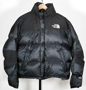 Men's Vintage THE NORTH FACE Black Gore Dryloft Down Puffer Jacket SZ Large