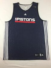 Detroit Pistons adidas Jersey Men's Navy Poly Used Multiple Sizes