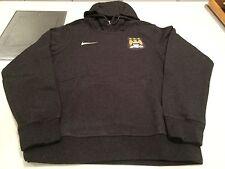 Team Manchester City English Soccer Football Hoodie Sweatshirt Grey XL Adult