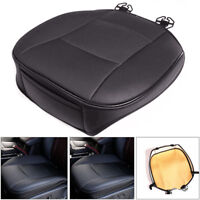 PU Leather Deluxe Car Cover Seat Protector Cushion Black Front Cover Wonderful