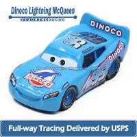 Mattel Disney Pixar Cars Dinoco LIGHTNING McQueen 1:55 Diecast Toys Car Loose