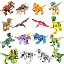 16Pcs Jurassic Dinosaur Figure Toys Educational Plastic Playset for Boys Girls