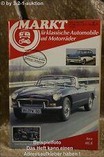 Oldtimer Markt 5/86 MG B, Ford Barock Taunus 17m