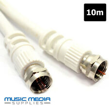 10M Satellite Sky Extension Cable Lead Digital Coupler Virgin HD WHITE TIVO Link