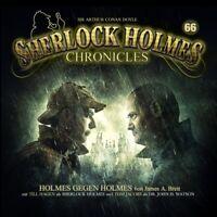 SHERLOCK HOLMES CHRONICLES - HOLMES GEGEN HOLMES FOLGE 66   CD NEW