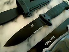 Smith & Wesson M&P Grip Swap Combat Bowie Hunter Knife 8Cr13 Full Tang 1085887