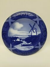 """Royal Copenhagen 1864 1914 windmill Plate Denmark 8"""" across #172 50 Year"""