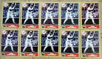 1987 - Topps #500 - Don Mattingly New York Yankees - HOF - 10ct Card Lot