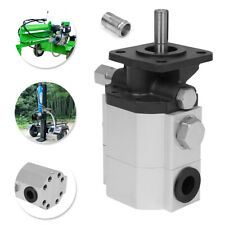 11 Gpm Hydraulic Log Splitter Pump Dual Stages Max 4000 Psi Wood Processor