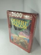 NEW W/CRUSHED BOX PAL VER DESERT FALCON GAME FOR ATARI 2600  ( NOT FOR USA)G59