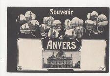 Souvenir d'Anvers Belgium Vintage Postcard 264a