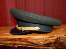 Vintage U.S. Army Military Green Fur Felt Dress Hat Cap ORIGINAL Luxemberg NY