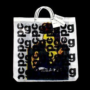 NWT Comme des Garcons JAPAN Frida Kahlo CDG Logo Overprint Tote Bag DS AUTHENTIC