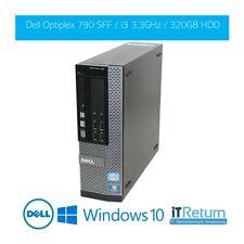 DELL Optiplex790 SFF/ Office PC / Intel® Core i3-2100 3,1GHz/ 4GB RAM / 32...