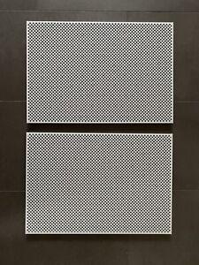 2 USM Haller Tablare 50x35 in lichtgrau, perforiert