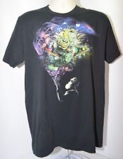 VTG Imaginary Foundation Black Outer Space Quote Mens L Made in USA