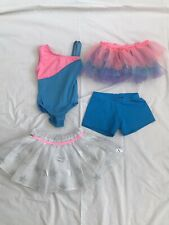 Ballet Dance Leotard Tutu And Shorts Lot