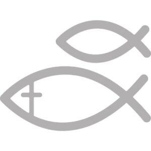 Stanzschablonen Prägeschablonen Fishes Fische Christenfisch Rayher 59-978-000